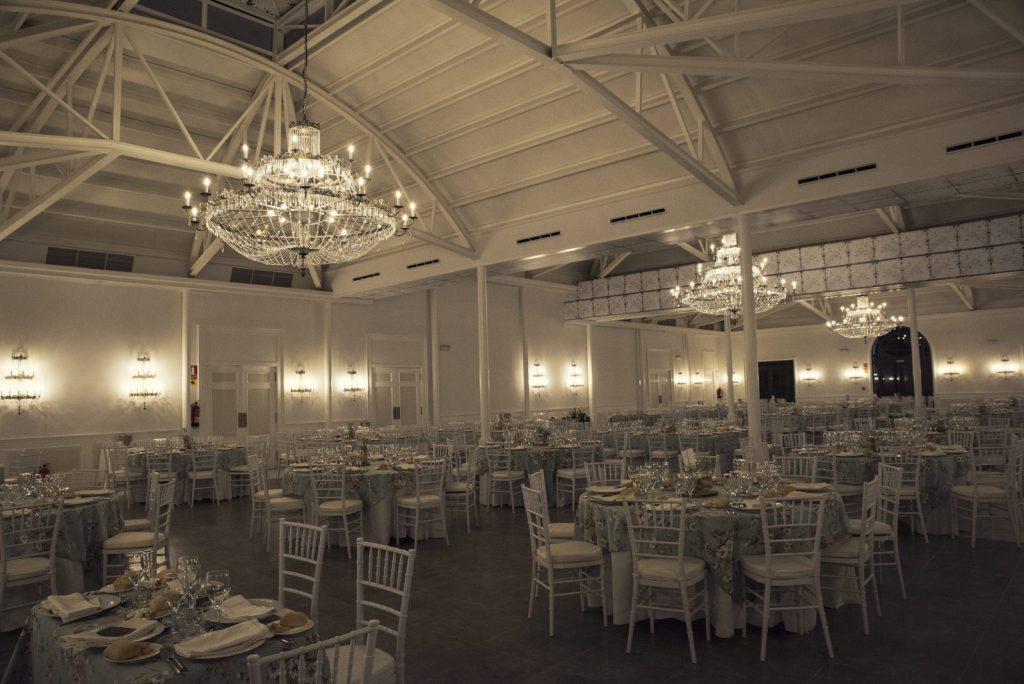 Interior del salón de Entrehiedra