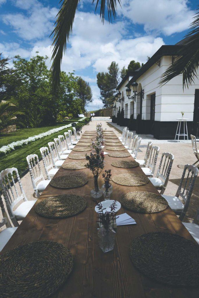 boda exterior Entrehiedra
