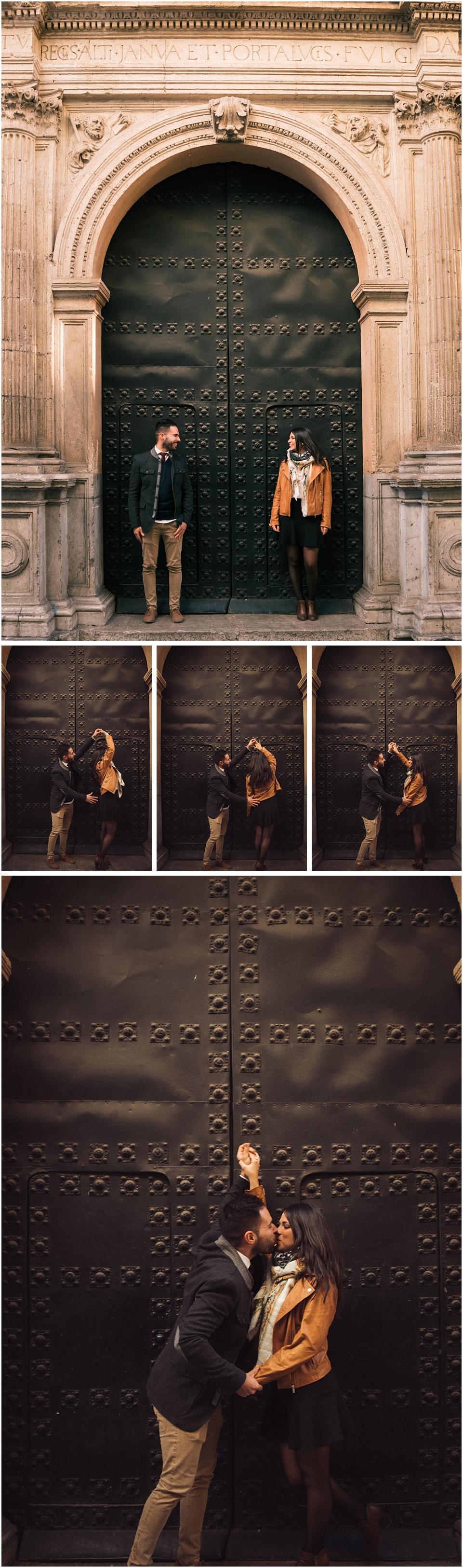 Calles de Granada,Granada,Sesión de pareja en Granada,fotografia en pareja,sesion en pareja,
