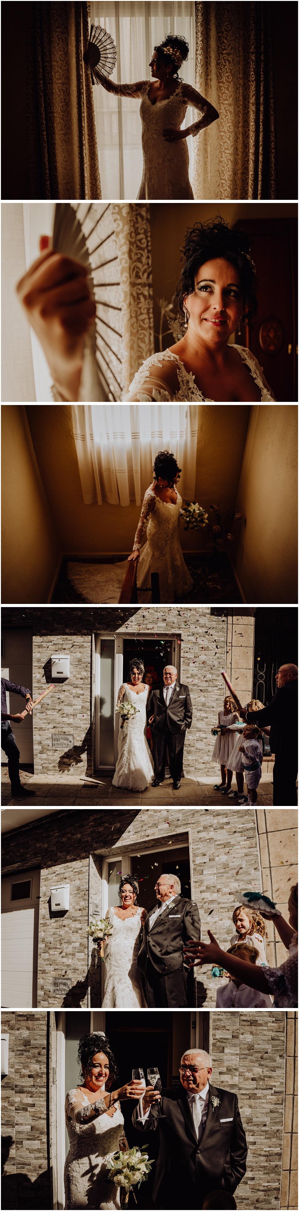 fotos de una boda en los villares, jaen