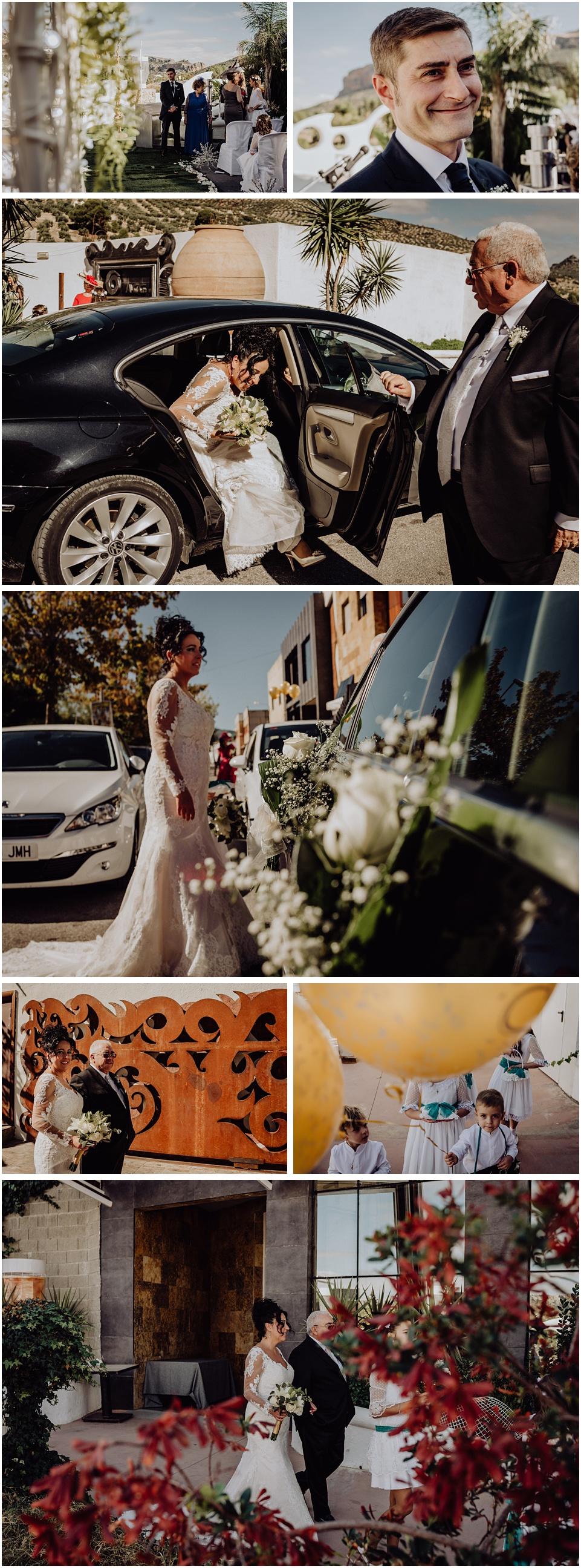 fotos de una boda en los villares