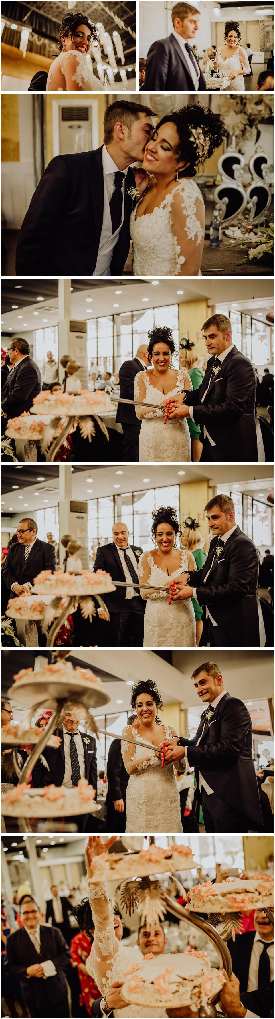 Fotografia de boda en el hotel acg de Los Villares, jaen
