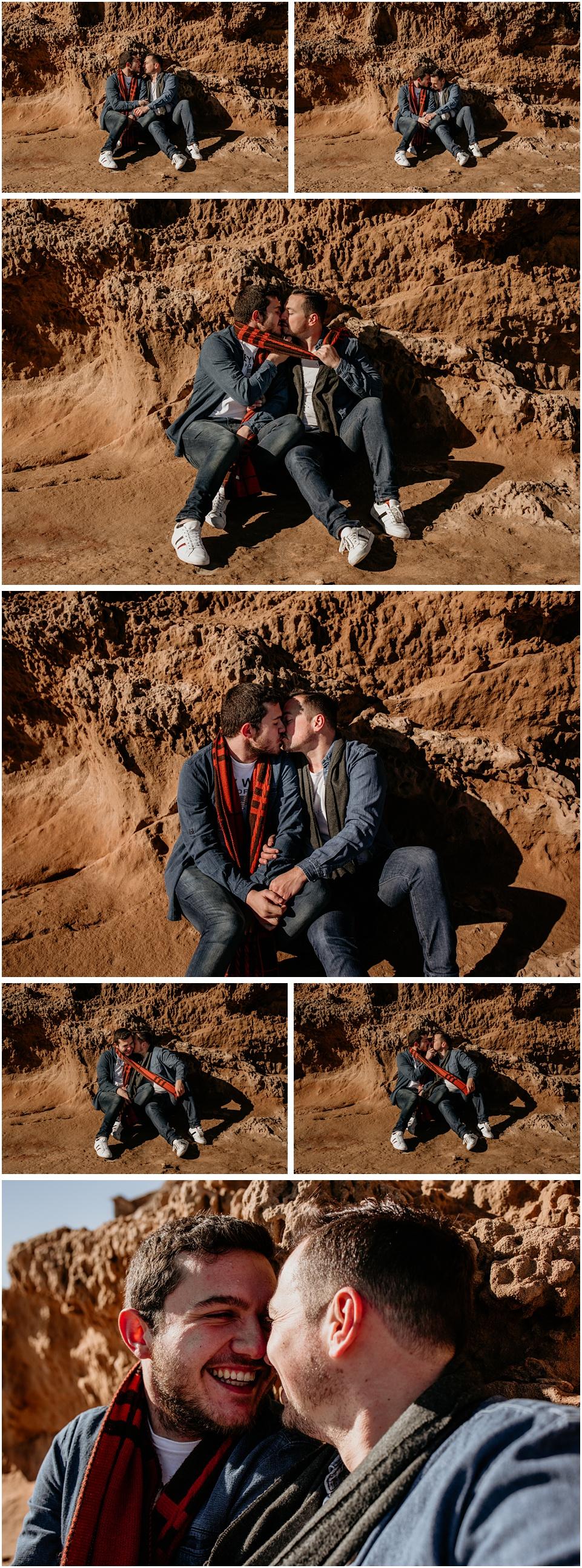pareja de hombres gays