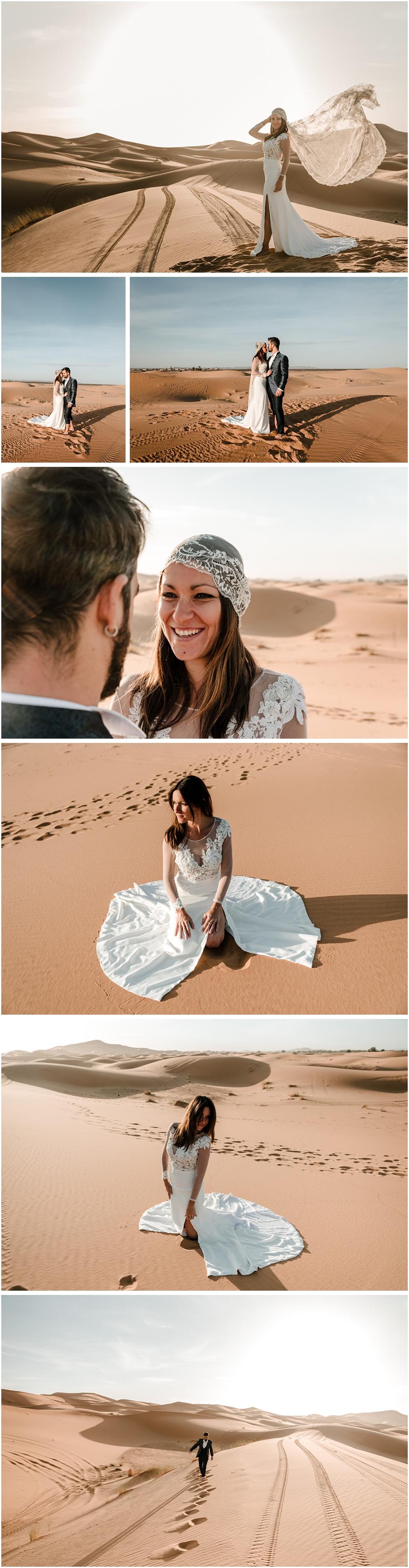sesion de fotos en el desierto del sáhara