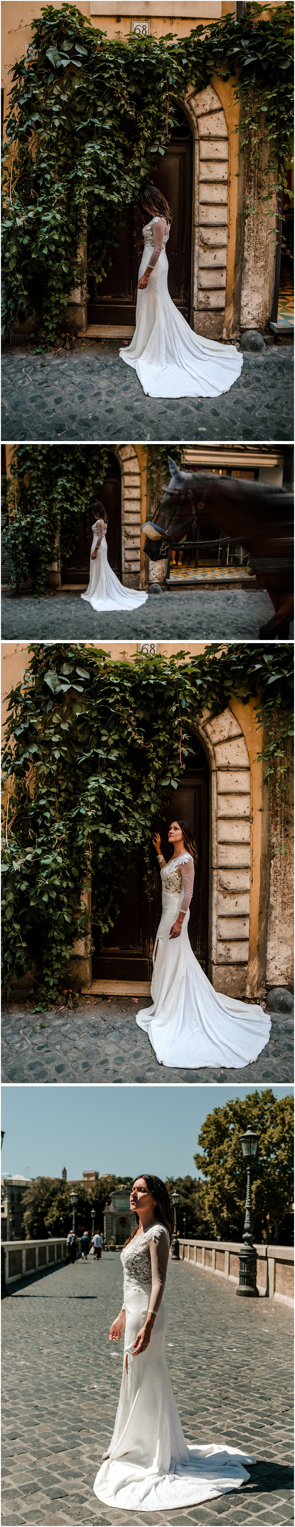 una novia en roma