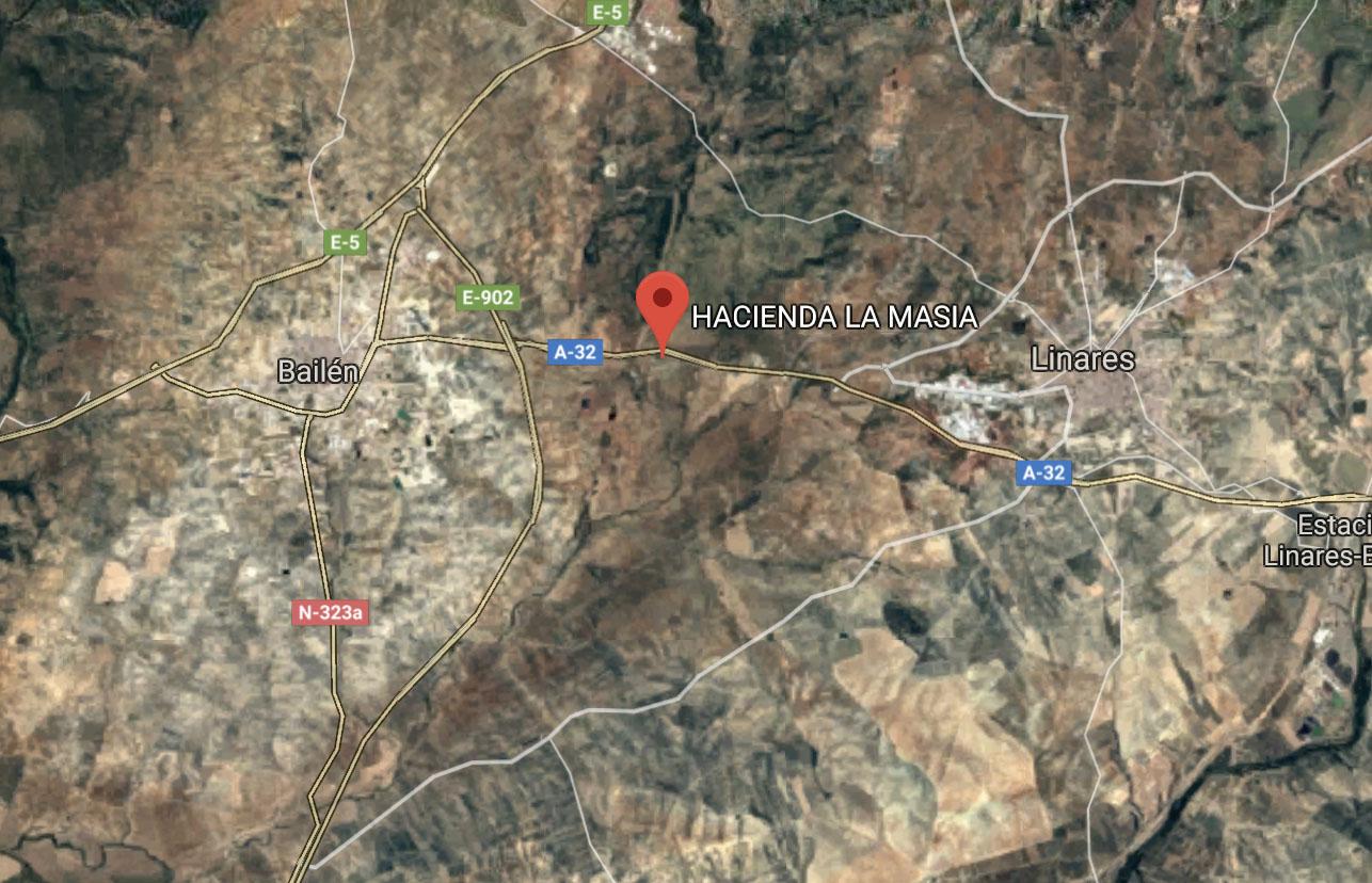Localizacion Hacienda La Masia