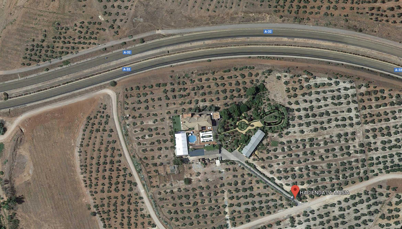 Ubicacion Hacienda La Masia