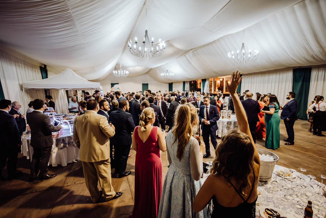 invitados boda Hacienda La masia