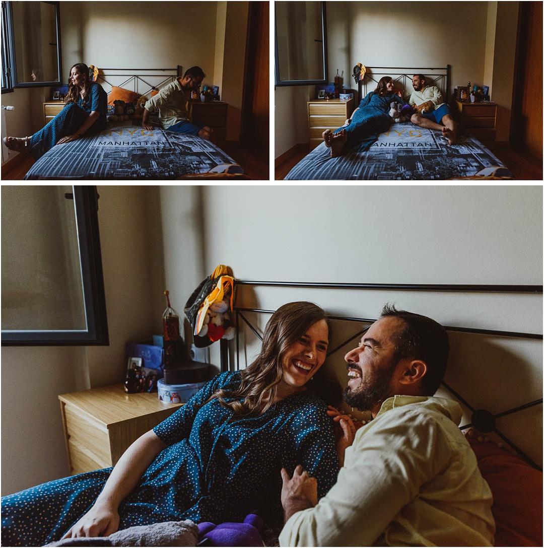 fotos de una pareja en casa de ciudad real
