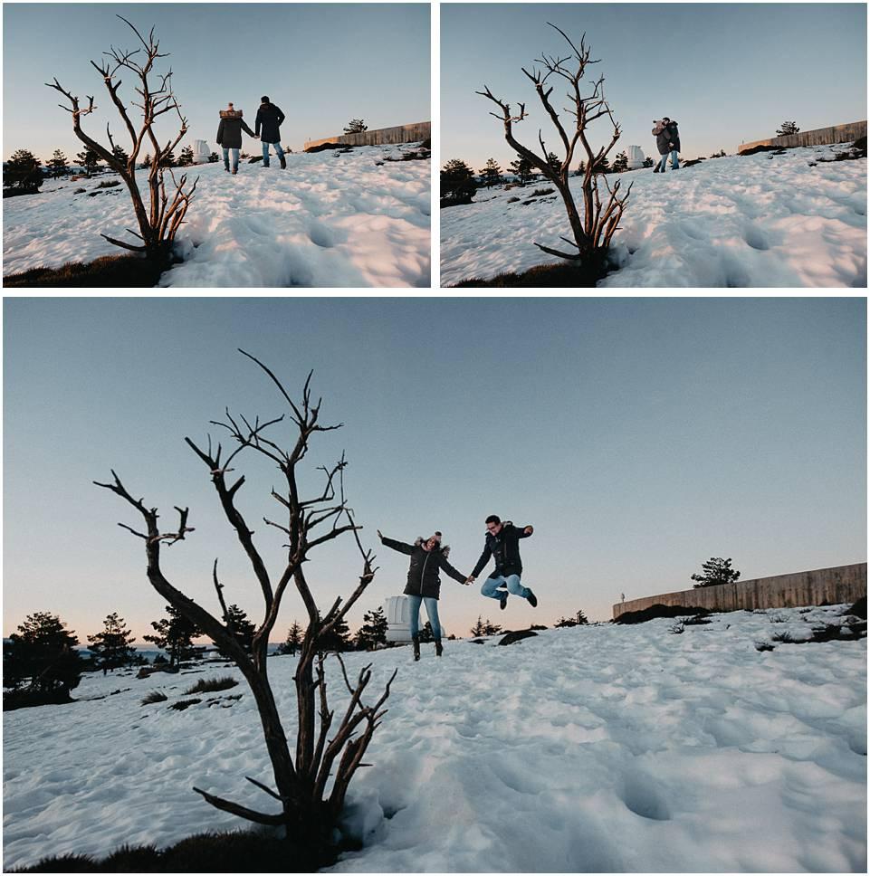 Nieve en Calar alto almeria
