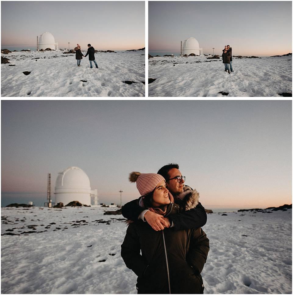 fotos de pareja en el observatorio