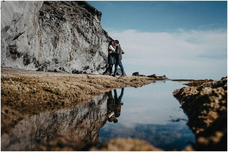 fotos de pareja en las playas de Almería