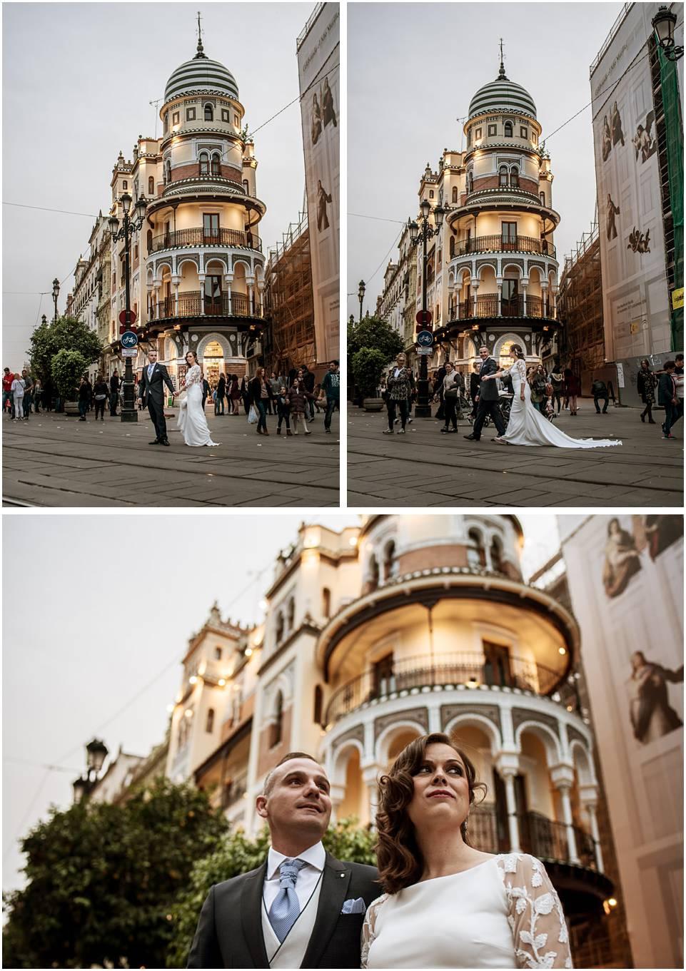 Post-boda en Sevilla, fotógrafo de bodas
