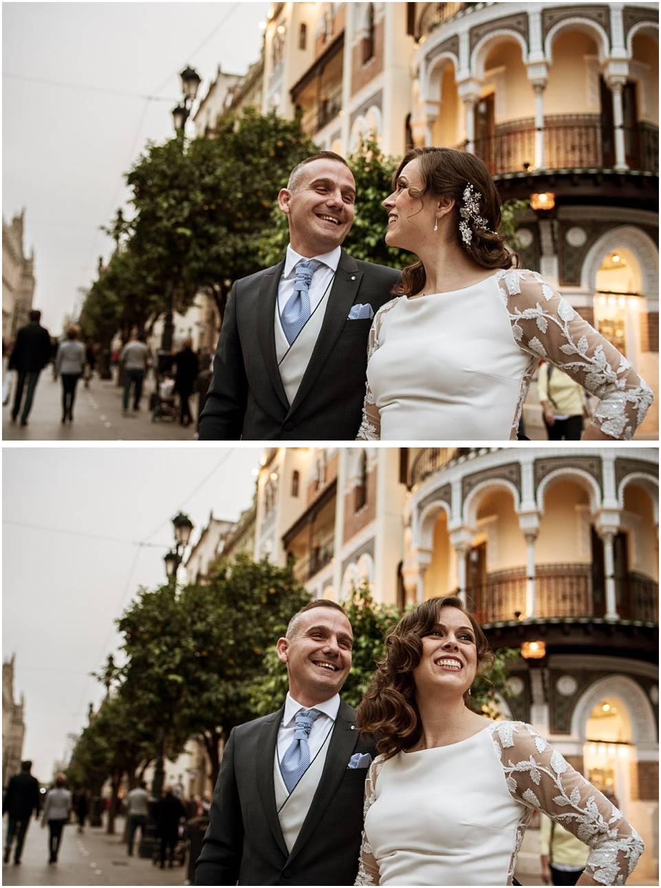 Post boda en Sevilla, fotógrafo de bodas