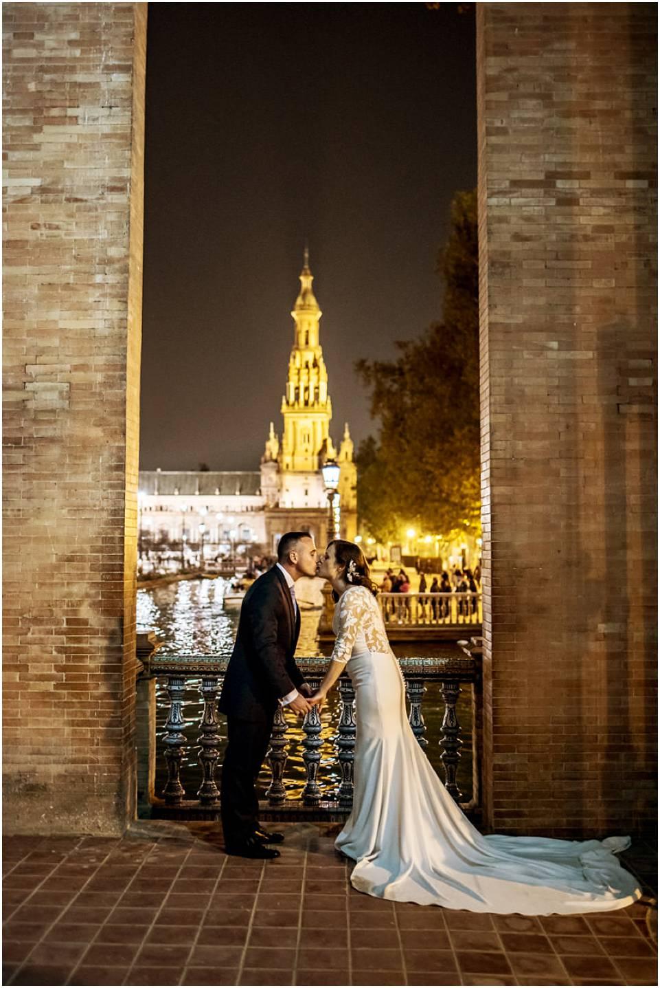 fotos postboda en Sevilla, fotógrafo de bodas