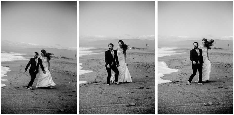 fotos postboda almeria blanco y negro