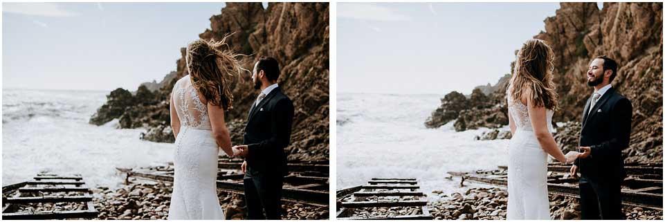 fotos de novios en el arrecife de las sirenas